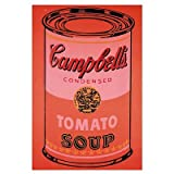 Campbell's Soup Can, c.1965 (Orange) Art Print Fine Art Poster Print by Andy Warhol, 13x19