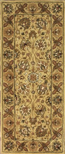 2'6 x 10'0 Handmade Tufted Persian Sultanabad New Area Rug From India - 62749