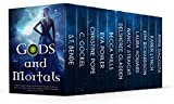 img - for Gods and Mortals: Eleven Novels Featuring Thor, Loki, Greek Gods, Native American Spirits, Vampires, Werewolves, & More book / textbook / text book