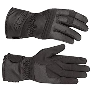 BILT Tempest Waterproof Textile Motorcycle Gloves - MD, Black