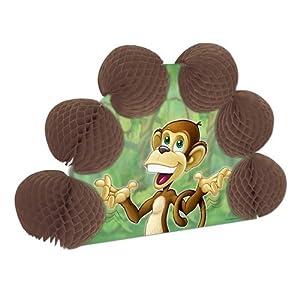 Monkey Pop-Over Centerpiece Party Accessory (1 count) (1/Pkg)