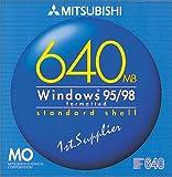 三菱化学 KR640W1 MOディスク(640MB/ 1枚/ウインドウズ)