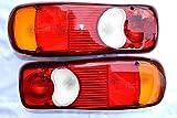 2x12v R�ckleuchten Typ DAF CF LF Renault Premium VW T5 Pritsche LKW Heckleuchte