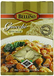 Bellino Cheese Gnocchi, 16 Ounce Boxes (Pack of 12)
