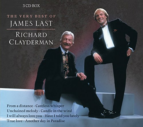 James Last - The Very Best Of James Last Richard Clayderman - Set Of 3 Cd - Zortam Music