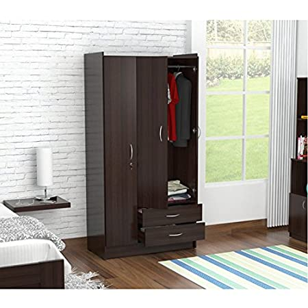 Inval AM-B223 Armoire, Espresso-Wengue