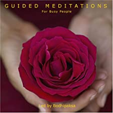 Guided Meditations for Busy People [Audiobook] [Audio CD] — by Bodhipaksa