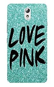 Back Cover for Lenovo Vibe P1M Love Pink