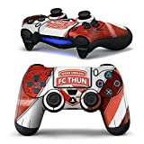 Mod Freakz 2 Pack Play Station 4 Vinyl Controller Skins For Sony Ps4 Dual Shock 4 Wireless Controllers Red And...