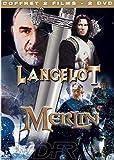 echange, troc Coffret Légende du roi Arthur 2 DVD : Merlin / Lancelot