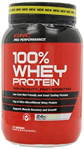 Gnc Pro Performance 100% Protein Drink, Vanilla Cream, 2.02 Pounds