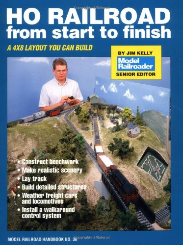 HO Railroad from Start to Finish (Model Railroad Handbook, No 36)