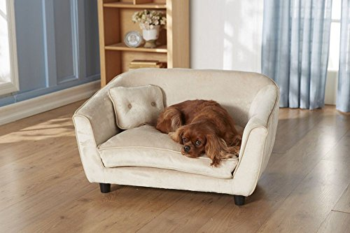Artikelbild: Hundesofa 'Classic', austernfarbig