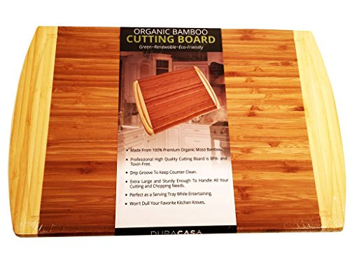 Duracasa Bamboo Cutting Board | Large 18
