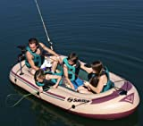 Inflatable Solstice Voyager 5 Person Fishing Boat
