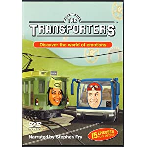 The Transporters Discover the world of emotions Autism dvd.