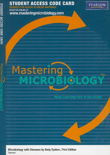 MasteringMicrobiology -- Standalone Access Card -- for Microbiology   with Diseases by Body System (MasteringMicrobiology (Access Codes))