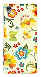 TrilMil Printed Designer Mobile Case Back Cover For Sony Xperia X Performance