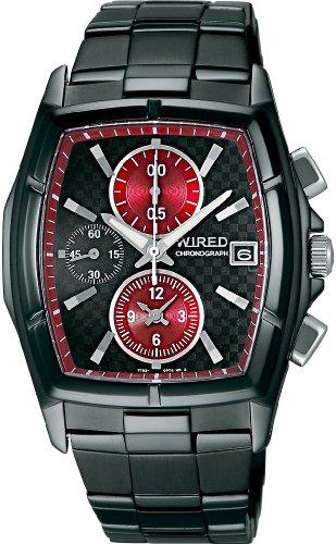 [ワイアード]WIRED 腕時計 クロノグラフモデル AGAV042 メンズ