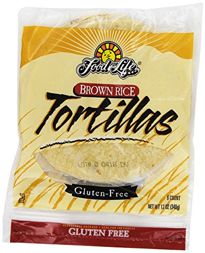 Food For Life, Tortillas, Brown Rice, 12 oz (Frozen) (Gluten Free Frozen Food compare prices)