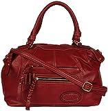 OMNESTA Office Women's Handbag (Red, DAZ009RED)