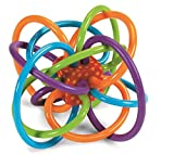Manhattan Toy Winkel Rattle and Sensory Teether Activity Toy - 2Pack 2