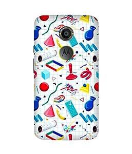 Grid Objects Motorola Moto X2 Case