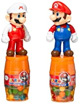 Au'some Candy Mario Barrel Candy Container, 0.63-Ounce Packages (Pack of 12)