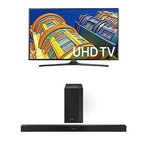 Samsung UN55KU6300 55-Inch TV with HW-K450 Sondbar