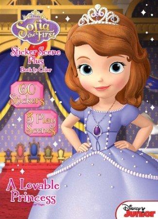 Disney Junior Sofia the First: A Lovable Princess Sticker Book - 1