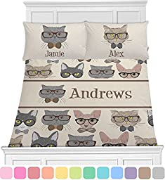 Hipster Cats Toddler Bedding Set