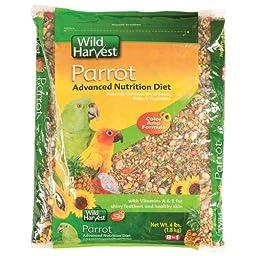 Wild Harvest Advanced Nutrition Diet for Parrots 8 lb.