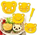CuteZCute Animal Friends Food Cutter and Stamp Kit