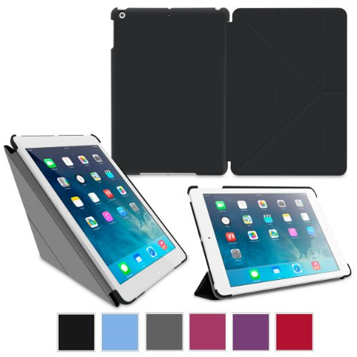rooCASE Origami Folio Case Cover for iPad Air