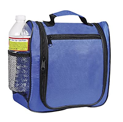 Cheapest Multi Pocket Hanging Toiletry Cosmetics Travel Bag, Royal Blue by BAGS FOR LESSTM by Budget Bags Inc - Free Shipping Available