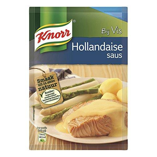 Knorr Sauce Hollandaise - délicieux avec le poisson - 40 grammes [PACK DE 1]
