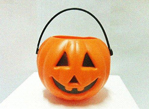 "Everything Else Bucket Plastic Pumpkin 2"" (2Pcs)"