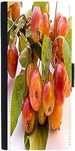 Snoogg Autumn Designer Protective Flip Case Cover For Samsung Galaxy Fresh S7390
