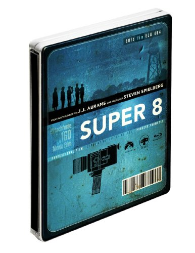 Super 8 – Combo Blu-ray + DVD + copie digitale – Edition collector limitée boîtier métal – Exclusivité Amazon.fr [Blu-ray]