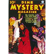 VINTAGE Dime Mystery PULP Magazine PULP Novel POSTER B
