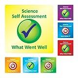 Science Self/Peer Assessment Stickers-AMZ