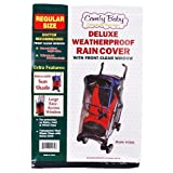 Comfy Baby Deluxe Weatherproof Rain Cover with Retractable Sun Shade and Large Easy-Access Window ~ JPS Juvenile Products Inc