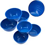 6 Chris Freytag Melamine Measure Up Bowls Portion Control Diet Weight Loss Aid