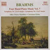 Symphony no.3 in F major (2 pianos) op.90 Brahms