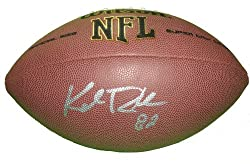 Minnesota Vikings Kyle Rudolph Autographed NFL Wilson Composite Football, Notre Dame Fighting Irish, Proof Photo