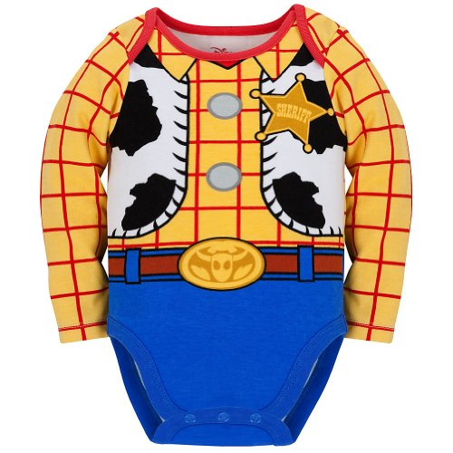 Disney Store Toy Story Woody Costume Bodysuit Size 2T/24 Months with Hat