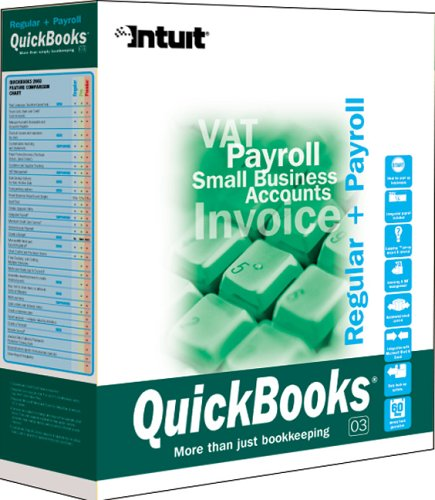 QuickBooks 2003 Regular With Payroll