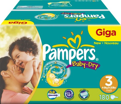Pampers - 81263010 - Baby Dry Couches - Taille