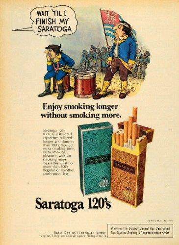 1976-ad-philip-morris-saratoga-menthol-cigarettes-revolution-cartoons-soldiers-original-print-ad