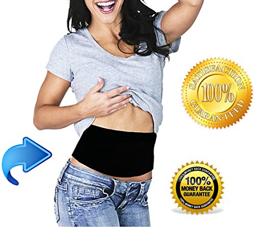 Beautyko Tummy Tuck Belt - Unisex Ab Belt For Trimming Waistline Burning Fat Losing Weight Fast And Easy